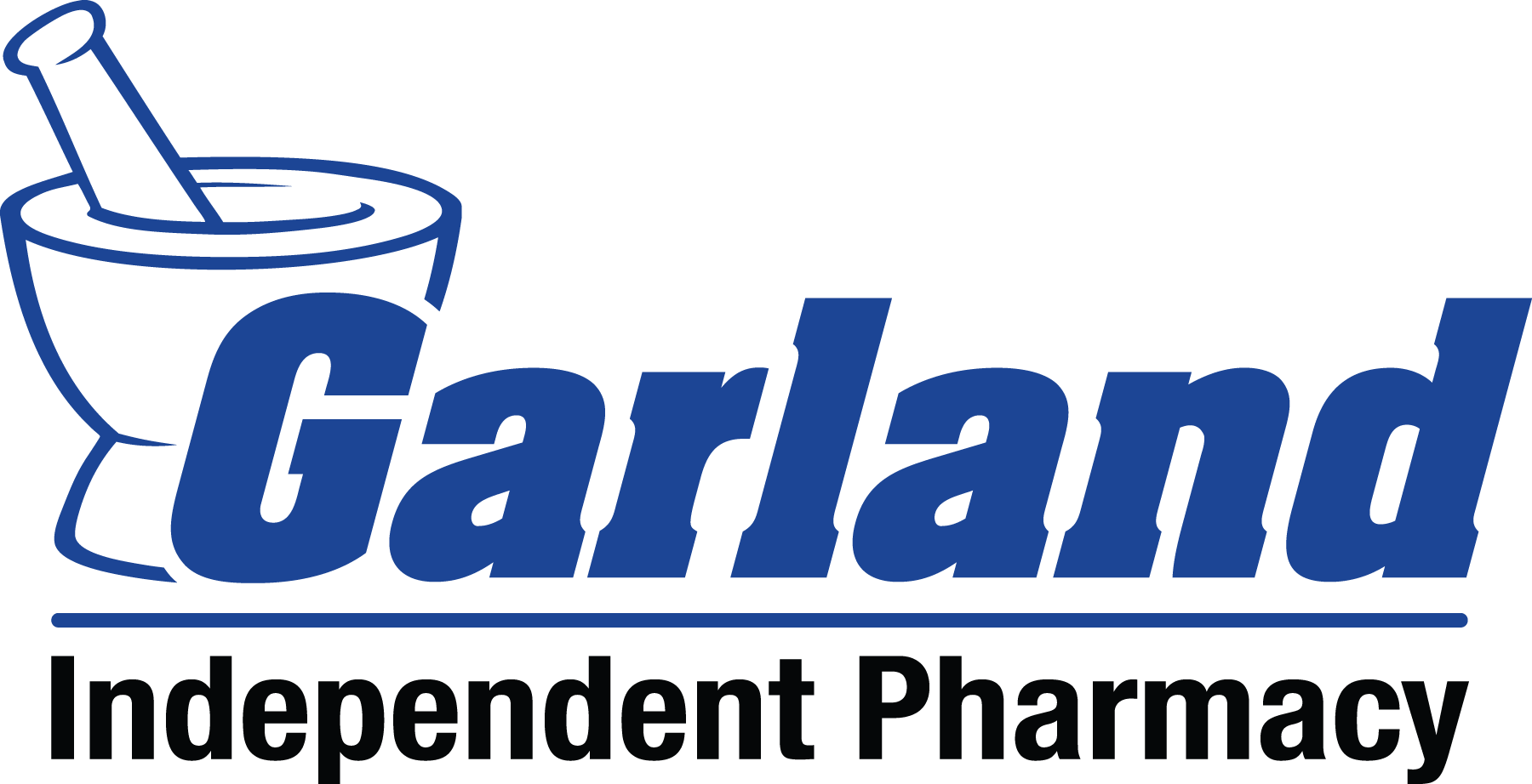 Garland independent pharmacy logo